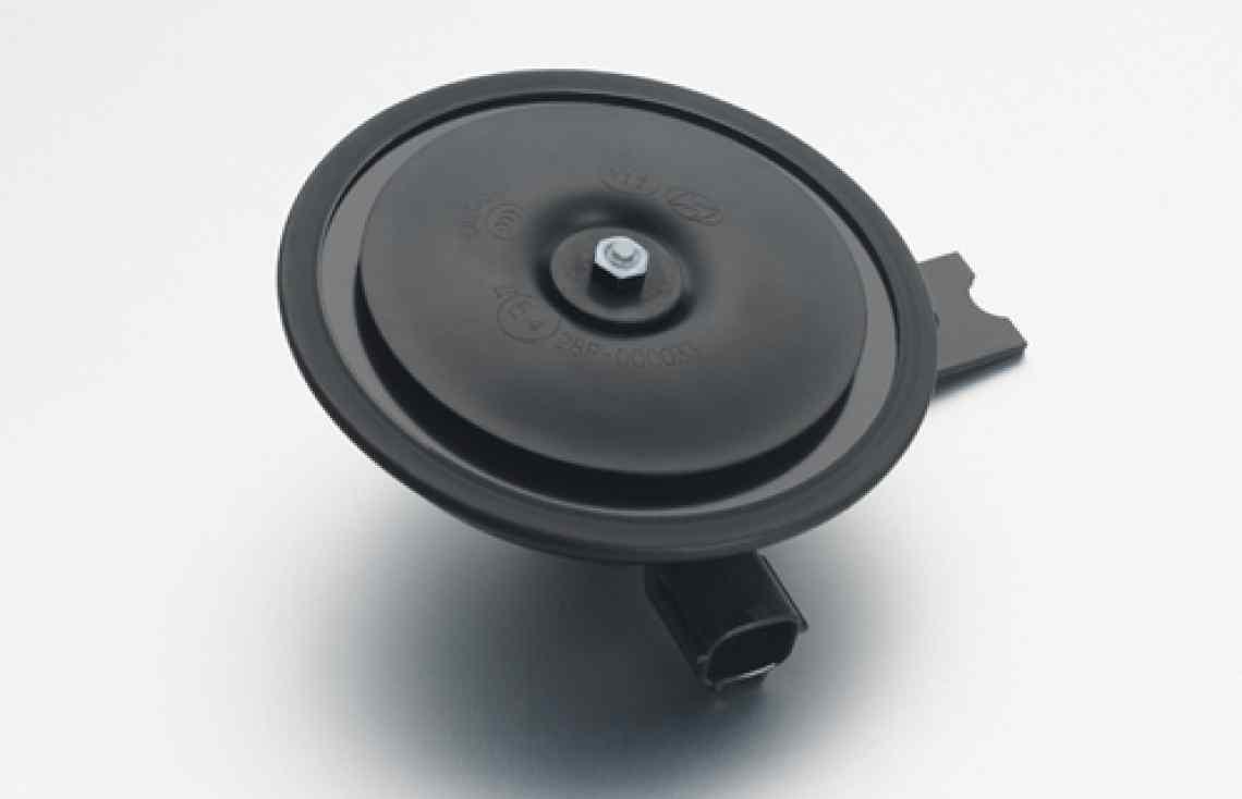 Φ100 Disk Electric Horn (12V, 24V, 48V, 80V)